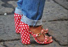 Denim & shoes..