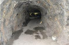 Interior de un túnel
