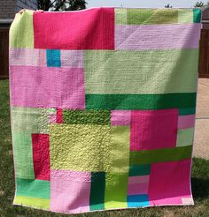 Trina's Quilt Back by Mle BB, via Flickr