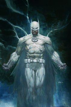 White Lantern Batman by David Finch