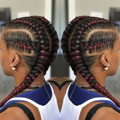 85 Box Braids Hairstyles for Black Women - Hairstyles Trends Box Braids Hairstyles, African Hairstyles, Trendy Hairstyles, Girl Hairstyles, Black Hairstyles, Teenage Hairstyles, Holiday Hairstyles, Afro Hair Style, Curly Hair Styles