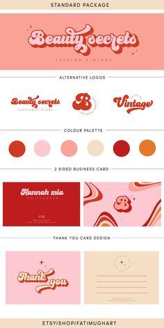 Branding Kit, Branding Design, Brand Identity Design, Stationery Design, Packaging Design, Graphic Design Posters, Graphic Design Inspiration, Logo Studio, Posters Conception Graphique