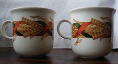 Arabia Finland Santa Arctica small coffee cups