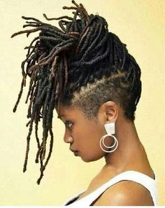 hair dreadlocks with trimmed sides - Google Search