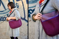 The Curve Saddle Bags, How To Wear