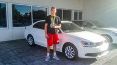 Congrats to Sam G. on his beautiful new 2013 #VW #Jetta SE & thanks to you and to Leo G. for choosing #FieldsVW! #FieldsVW #VW #Volkswagen #DaytonaBeach #Florida