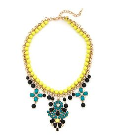 WIN a ShopLately Victorian Glow Statement Necklace at The Funky Monkey! Giveaway ends 6/30/13