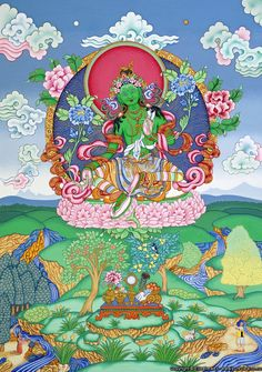 Unlike many people named Tara whos name derivation is Irish, mine comes from the Sanskrit word for star and the name of a wonderful Goddess, the green Tara