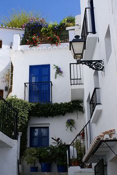 Nice corner in Frigiliana, Andalucía, Spain.  http://www.costatropicalevents.com/en/costa-tropical-events/andalusia/welcome.html