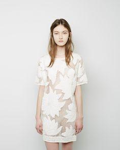 ISABEL MARANT ÉTOILE | Caty Embroidered Dress | Shop @ La Garçonne