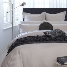 Stripe Bed Linen quilt cover.. adairs