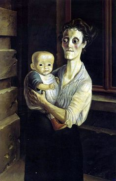 Otto Dix, Mother with Child, 1921