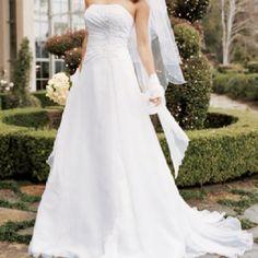 Vestido de noiva, tomara que caia!