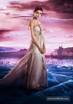 Gods of Egypt  - Promotional art with Courtney Eaton (Zaya)