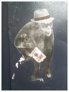 Street art. Barcelona. Maudea