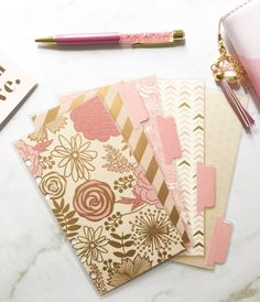 Planner Dashboard and tab Dividers Set Design by PlanCreateRepeat