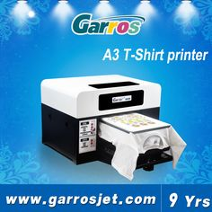 Guangzhousmall factory machine china newest 3d t-shirt printer machine a2 dtg printer price for sale