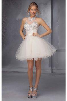 Embellished Homecoming Dress www.findress.com