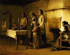 Orthodox Christian Education: How We Pray at Home with Children Gospel Reading, French Salon, Eastern Countries, Prayer Times, Choir, Prayers, Bible, Children, Painting