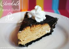Chocolate PB Pie