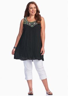 Big Sizes Womens Clothing   Clothes for Larger Size Women - HUNTER TUNIC - TS14