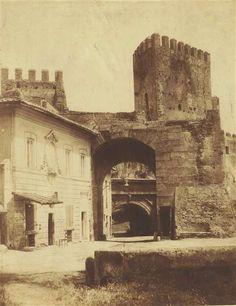 1855 circa calotipista non identificato . Porta San Lorenzo