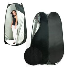 Portable Pop Up Black Dressing Room Model Changing Fitting Tent Outdoor Camping in Sporting Goods, Outdoor Sports, Camping & Hiking | eBay
