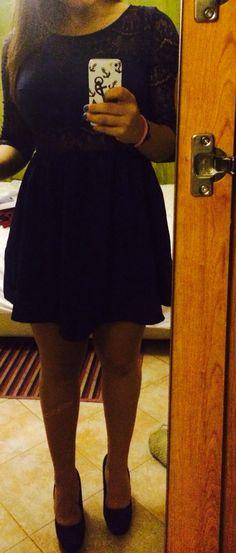 Blue dress !