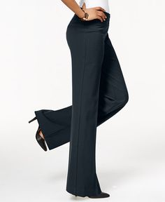 Style & Co. Stretch Wide-Leg Pants, Only at Macy's
