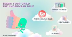 Teach your child the Underwear Rule!