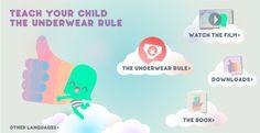 Teach your child the Underwear Rule!
