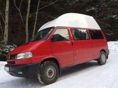4x4, Allrad, syncro oder wie auch immer, der T4 syncro macht auch im Schnee eine gute Figur Vw T4 Syncro, Offroad, Vw Bus, 4x4, Passion, Camping, Cars, Vehicles, Old Hands