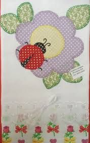 Resultado de imagem para pano de prato com aplique em patchwork Hand Applique, Machine Embroidery Applique, Free Machine Embroidery Designs, Applique Quilts, Quilt Patterns Free, Applique Patterns, Applique Designs, Crazy Quilting, Crochet Waffle Stitch