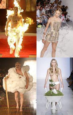 奇抜!ファッションショーの笑える画像集【パリコレ四天王、ジャミラ、亀甲縛り等】 #おかしい #変 - NAVER まとめ