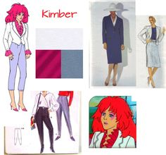 Kimber from Jem and the Holograms 80's by 2NerdsAndASeamstress, $168.00