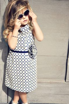 This dress and belt has M's name all over it!