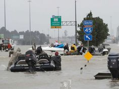 Hasil gambar untuk Volunteer 'Cajun Navy' is saving lives in Houston amid Harvey's torrential rains