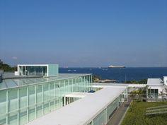 横須賀美術館 Sign Design, Marina Bay Sands, Museum, Architecture, School, Building, Travel, Image, Arquitetura