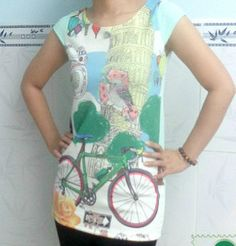 Trendy Tunic Top Pattern | AllFreeSewing.com