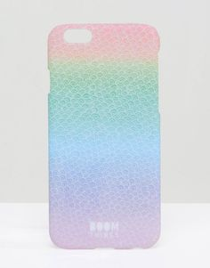Image 1 ofBoom Things Rainbow Scallop iPhone 6/6s Case