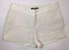 Lace Shorts, White Shorts, Women, Fashion, Moda, Fashion Styles, Fashion Illustrations, Woman