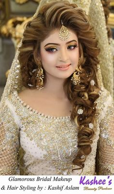 Pakistani bridal makeup by Kashee's Beauty Parlour