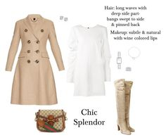 """""""Chic splendor"""" by chic-splendor on Polyvore featuring Vera Wang, Burberry, Gianvito Rossi, Gucci, Chanel and Cartier"""