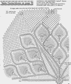 Kira scheme crochet: Scheme crochet no. 579