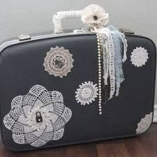 Image result for shabby suitcases
