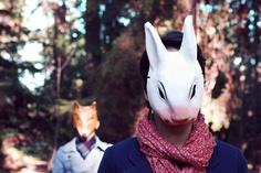 animal mask love