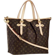 53d3443ef745 Cheap And Fine Louis Vuitton Palermo GM Brown Totes at Discount Price!