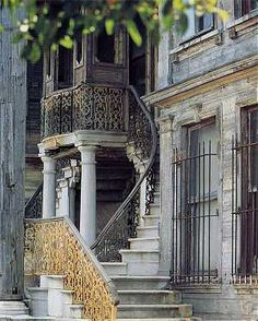 Grand old home in the Kadıköy district of Istanbul.