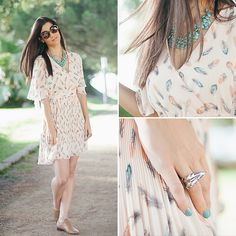 Feathers Flying  *WIN a dress like this - GIVEAWAY!* (by Sandra L.) http://lookbook.nu/look/3953284-Feathers-Flying-WIN-a-dress-like-this-GIVEAWAY