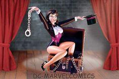 DC Direct★zatanna Animated Statue Mib★maquette Batman JLA Figure Figurine | eBay